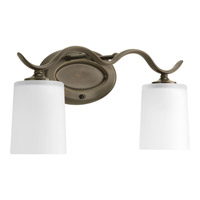 Progress Lighting Inspire 2 Light Bath Vanity in Antique Bronze P2019-20