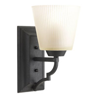 Progress Lighting Thomasville Meeting Street 1 Light Bath Vanity in Forged Black P2022-80