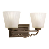Progress Lighting Thomasville Meeting Street 2 Light Bath Vanity in Roasted Java P2023-102