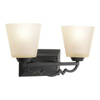 Progress Lighting Thomasville Meeting Street 2 Light Bath Vanity in Forged Black P2023-80