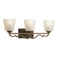 Progress Lighting Thomasville Meeting Street 3 Light Bath Vanity in Roasted Java P2024-102