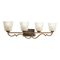 Progress Lighting Thomasville Meeting Street 4 Light Bath Vanity in Roasted Java P2025-102