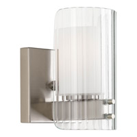 Progress Lighting Coupe 1 Light Bath Vanity in Brushed Nickel P2029-09WB