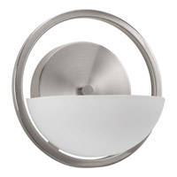 Engage 1 Light 7 inch Brushed Nickel Bath Vanity Wall Light