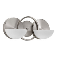 Progress Lighting Engage 2 Light Bath Light in Brushed Nickel P2034-09