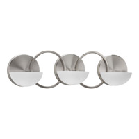 Progress Lighting Engage 3 Light Bath Light in Brushed Nickel P2035-09