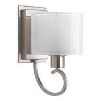 Progress Lighting Invite 1 Light Bath Light in Brushed Nickel P2041-09