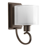 Progress Lighting Invite 1 Light Bath Light in Antique Bronze P2041-20