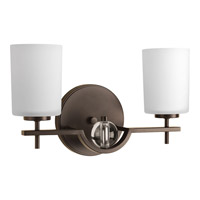 Progress Compass 2 Light Bath Vanity in Antique Bronze P2047-20
