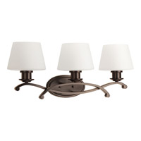 Progress Lighting Club 3 Light Bath Light in Antique Bronze P2057-20