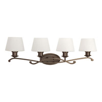 Progress Lighting Club 4 Light Bath Light in Antique Bronze P2058-20