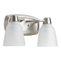 Progress Asset 2 Light Vanity in Brushed Nickel P2066-09WB