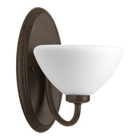 Rave 1 Light 7 inch Forged Bronze Bath Vanity Wall Light