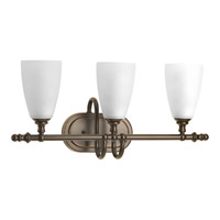 Revive 3 Light 21 inch Antique Bronze Vanity Wall Light