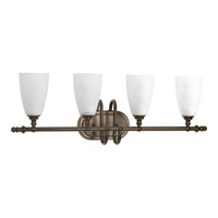 Progress P2077-20 Revive 4 Light 28 inch Antique Bronze Vanity Wall Light