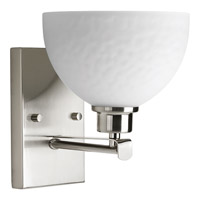Progress Legend 1 Light Bath Vanity in Brushed Nickel P2087-09