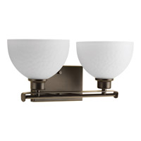 Progress Legend 2 Light Bath Vanity in Antique Bronze P2088-20