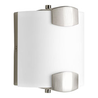 Progress Balance 1 Light Bath Sconce in Brushed Nickel P2091-0930K9