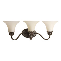 Applause 3 Light 24 inch Antique Bronze Bath Vanity Wall Light