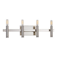 Progress Draper 4 Light Bath Vanity in Polished Nickel P2102-104