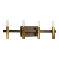 Progress Draper 4 Light Bath Vanity in Antique Bronze P2102-20