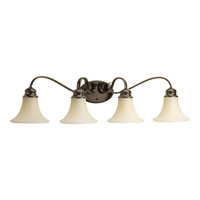 Applause 4 Light 34 inch Antique Bronze Bath Light Wall Light
