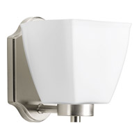 Bounty 1 Light 7 inch Brushed Nickel Vanity Wall Light