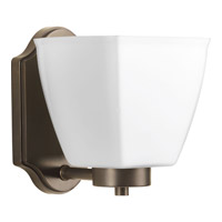 Progress Bounty 1 Light Vanity in Antique Bronze P2107-20