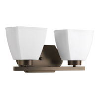 Bounty 2 Light 16 inch Antique Bronze Vanity Wall Light