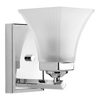 Progress Oasis 1 Light Bath Vanity in Brushed Nickel P2111-15