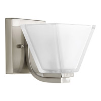 Sync 1 Light 6 inch Brushed Nickel Bath Vanity Wall Light