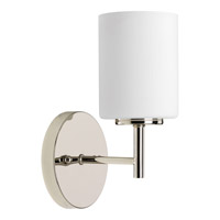 Replay 1 Light 5 inch Polished Nickel Bath Vanity Wall Light