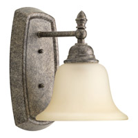 Progress Spirit 1 Light Vanity in Pebbles P2135-144
