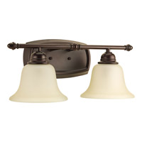 Spirit 2 Light 17 inch Antique Bronze Bath Vanity Wall Light