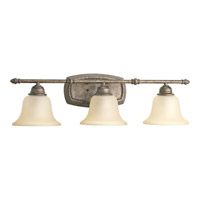 Spirit 3 Light 28 inch Pebbles Vanity Wall Light