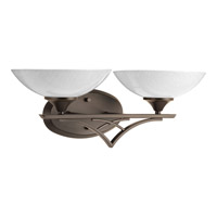 Progress Lighting Prosper 2 Light Bath Light in Antique Bronze P2151-20