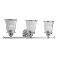 Radiance 3 Light 24 inch Polished Chrome Bath Vanity Wall Light