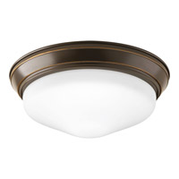 Progress Lighting Signature 1 Light Flush Mount in Antique Bronze P2302-20ET30K