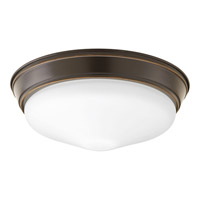 Progress Lighting Signature 1 Light Flush Mount in Antique Bronze P2303-20ET30K