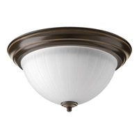 Progress Lighting Signature 1 Light Flush Mount in Antique Bronze P2305-20ET30K