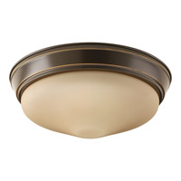 Signature LED 13 inch Antique Bronze Flush Mount Ceiling Light
