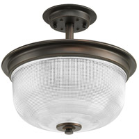 Archie 2 Light 12 inch Venetian Bronze Semi-Flush Convertible Ceiling Light