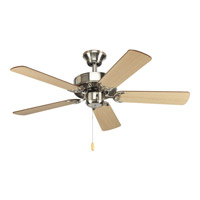 AirPro 42 inch Brushed Nickel Ceiling Fan in Cherry/Natural Cherry