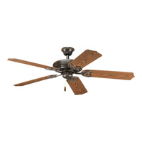 AirPro 52 inch Antique Bronze Ceiling Fan in Oak