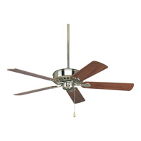 AirPro 52 inch Brushed Nickel Ceiling Fan in Cherry/Natural Cherry