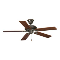 Progress P2521-20 AirPro 52 inch Antique Bronze Ceiling Fan in Medium Cherry/Classic Walnut