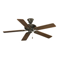 Progress P2521-77 AirPro 52 inch Forged Bronze Ceiling Fan in Medium Cherry/Classic Walnut
