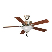 Progress P2521-81 AirPro 52 inch Antique Nickel Ceiling Fan in Medium Oak/Cherry alternative photo thumbnail