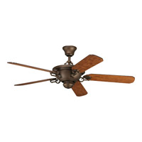 Progress Lighting Thomasville Meeting Street Ceiling Fan in Roasted Java P2527-102