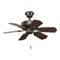 Progress Lighting AirPro Ceiling Fan in Antique Bronze P2529-20